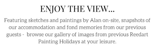 Alan Reed Painting Holidays