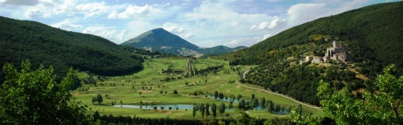 Antognolla Championship Golf Course in Umbria