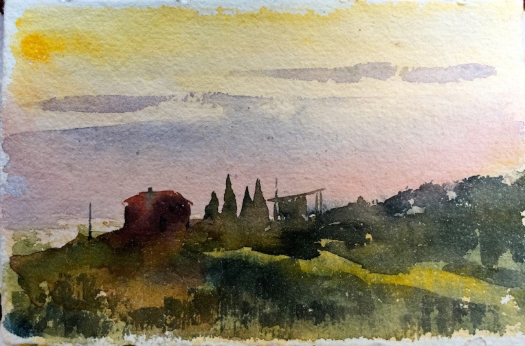 Umbrian Sunset