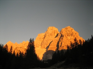 Dolomites- Last Light