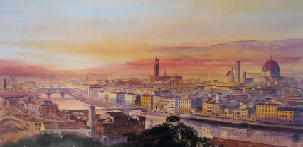 Florence from Piazza Michelangelo by Alan Reed