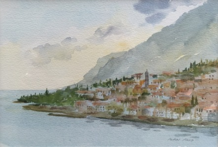 Limone, Lake Garda by Alan Reed