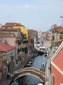 View from Nai's Balcony in Venice