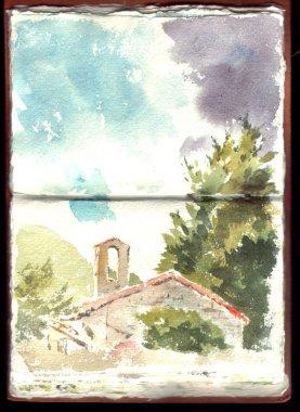 Chiesa del Carmine Sketch