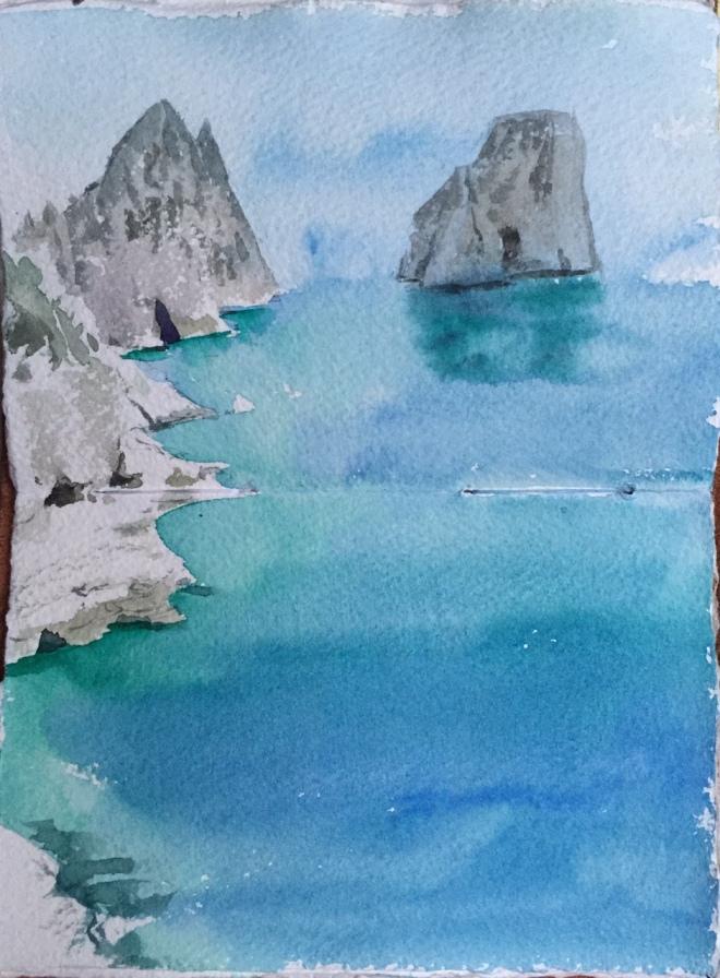 The Faraglione Rocks, Capri