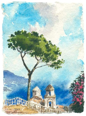 Ravello, an iconic scene from the Amalfi coast.
