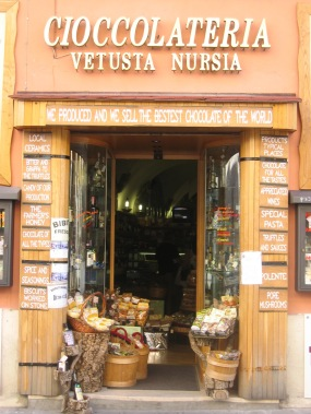 Shop in Norcia, Umbria