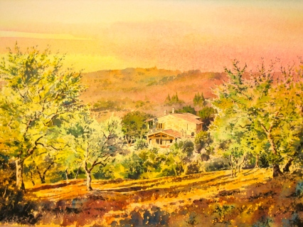 Commission near Panicale, Umbria