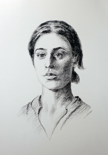 Emanuela - a portrait by Alan Reed