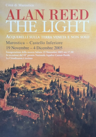 Alan Reed The Light Exhibition poster
