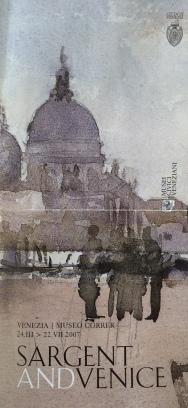 John Singer Sargent exhibition poster Venice