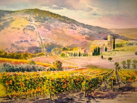 Sant' Antimo, Tuscany