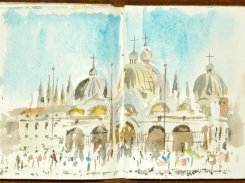 St Marks Basilica by Alan Reed