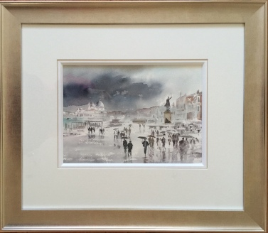 Venice in the Rain by Alan Reed