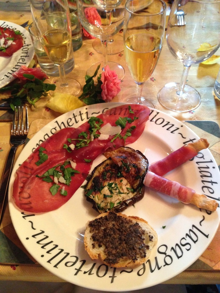 Meals at Villa Capanne